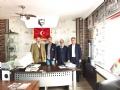 Türkiye'nin önde gelen Sivil Toplum Kuruluşlarından biri olan ve binlerce üyesi ile Türkiye ekonomisine katkı sağlayan MÜSİAD Genel Başkan yardımcısı Ali Reis TOPÇU bir dizi ziyaret için geldiği Ereğli'de gazetemizi de ziyaret etti.