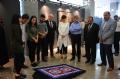 Bülent Ecevit Üniversitesi (BEÜ) Kdz. Ereğli Meslek Yüksekokulu (MYO) öğrencileri, Anadolu'nun geleneksek halılarını cam mozaik tekniği ile dokudular.